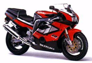 Suzuki GSX-R 400 1992 datasheet