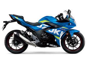 2017 Suzuki GSX250R L7 datasheet