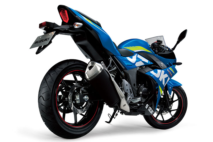 Suzuki GSX250R 2017 Specifications