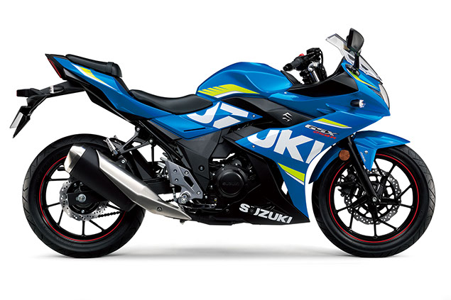 Suzuki GSX250R 2018 Specifications