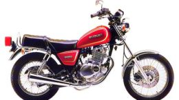 Suzuki GN250E 1991 service manual
