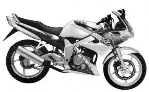 Suzuki FXR150 1997 service manual