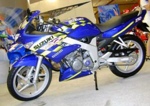 suzuki FXR150 2003 service manual