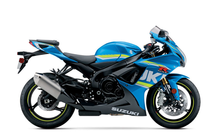 Suzuki GSX-R750 2017 Specifications