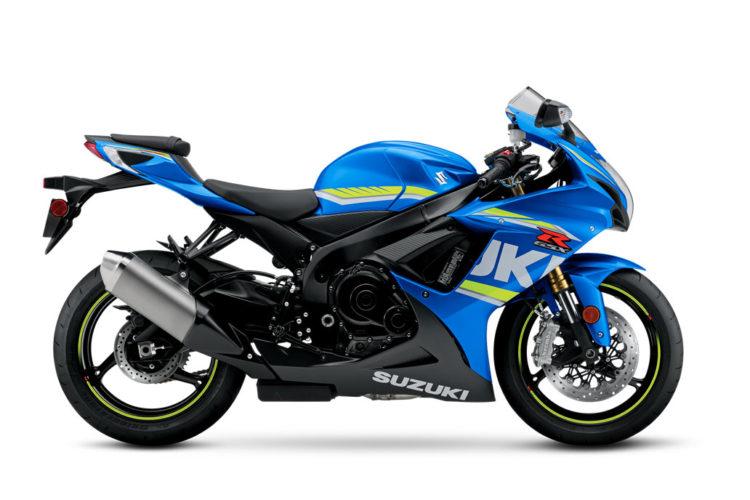 Suzuki GSX-R750 2018 Specifications