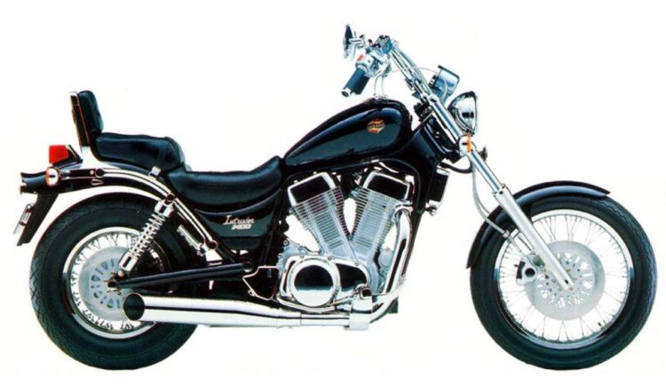 1989 Suzuki VS1400 Intruder Service Manual motorcycle