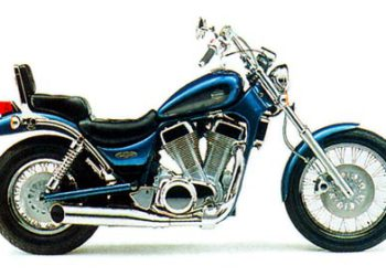 1995 Suzuki VS1400 Intruder Service Manual motorcycle