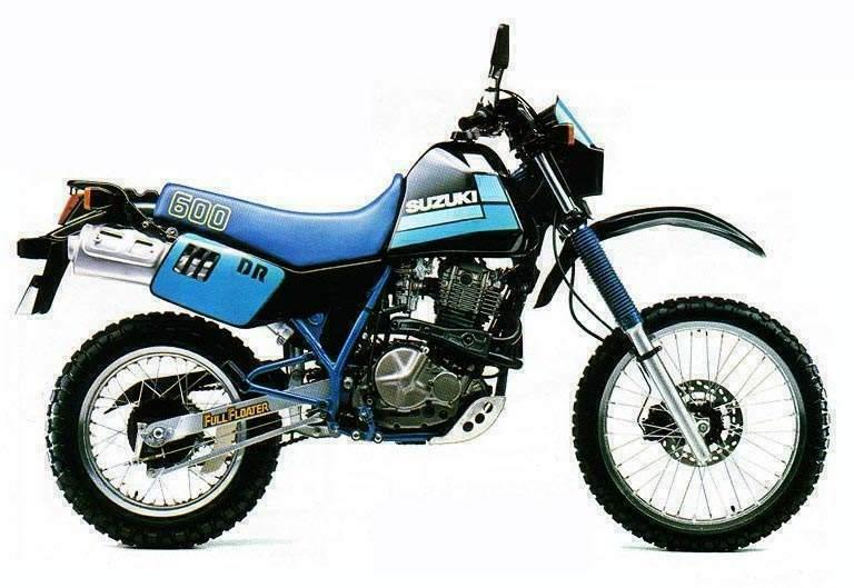 1984 Suzuki DR600 Service Manual