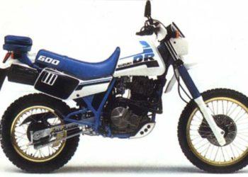 1985 Suzuki DR600 Service Manual