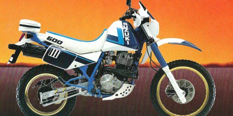 1986 Suzuki DR600 Service Manual