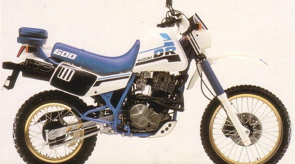 1987 Suzuki DR600 Service Manual