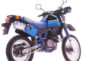 1988 Suzuki DR600 Service Manual