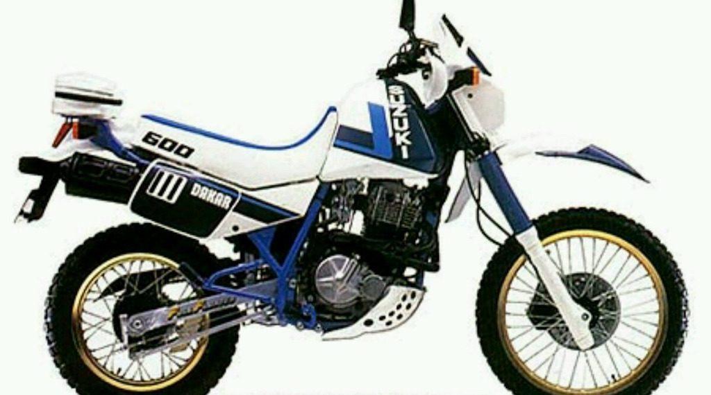 1989 Suzuki DR600 Service Manual