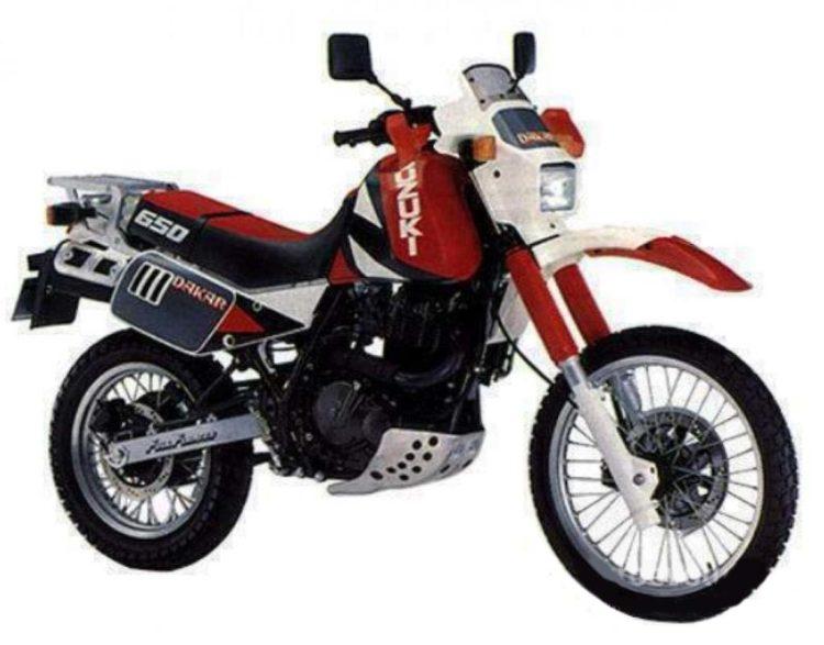 1990 Suzuki DR650 Service Manual