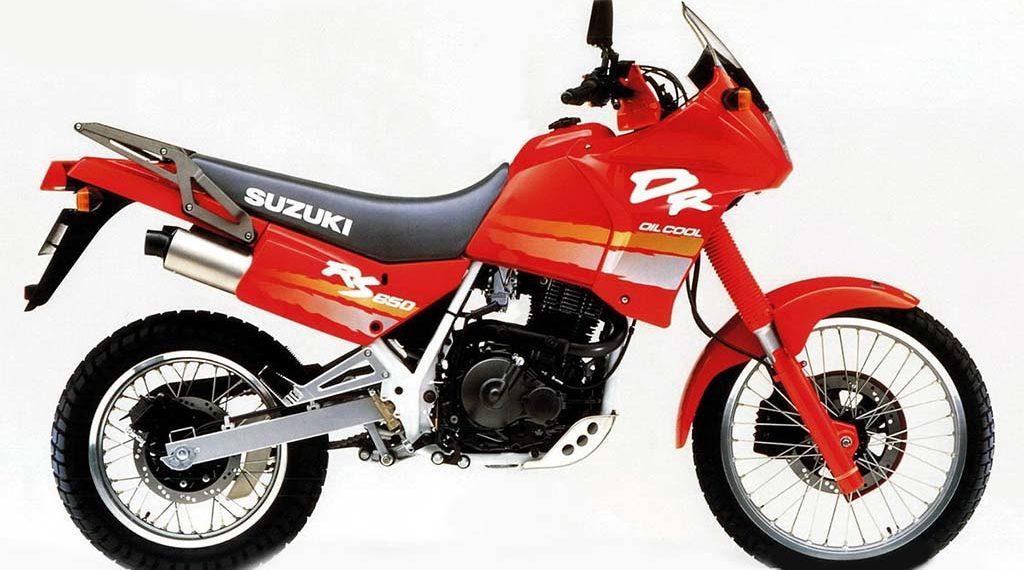 1992 Suzuki DR650 Service Manual