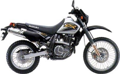 2000 Suzuki DR650 Service Manual