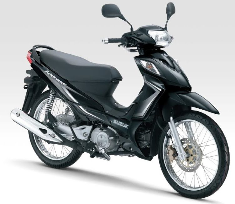 2012 Suzuki Address Service Manual