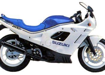 1988 Suzuki GSX600F Specifications