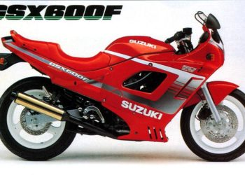 1990 Suzuki GSX600F Specifications