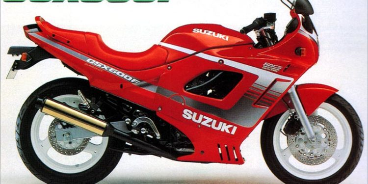 1990 Suzuki GSX600F Specifications
